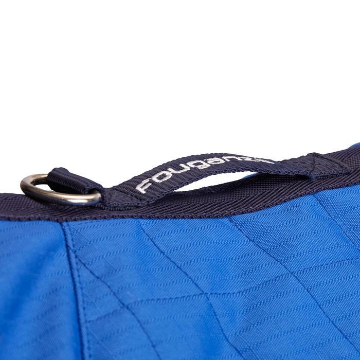 COUVERTURE EQUITATION ECURIE CHEVAL ET PONEY STABLE 400 bleu roi