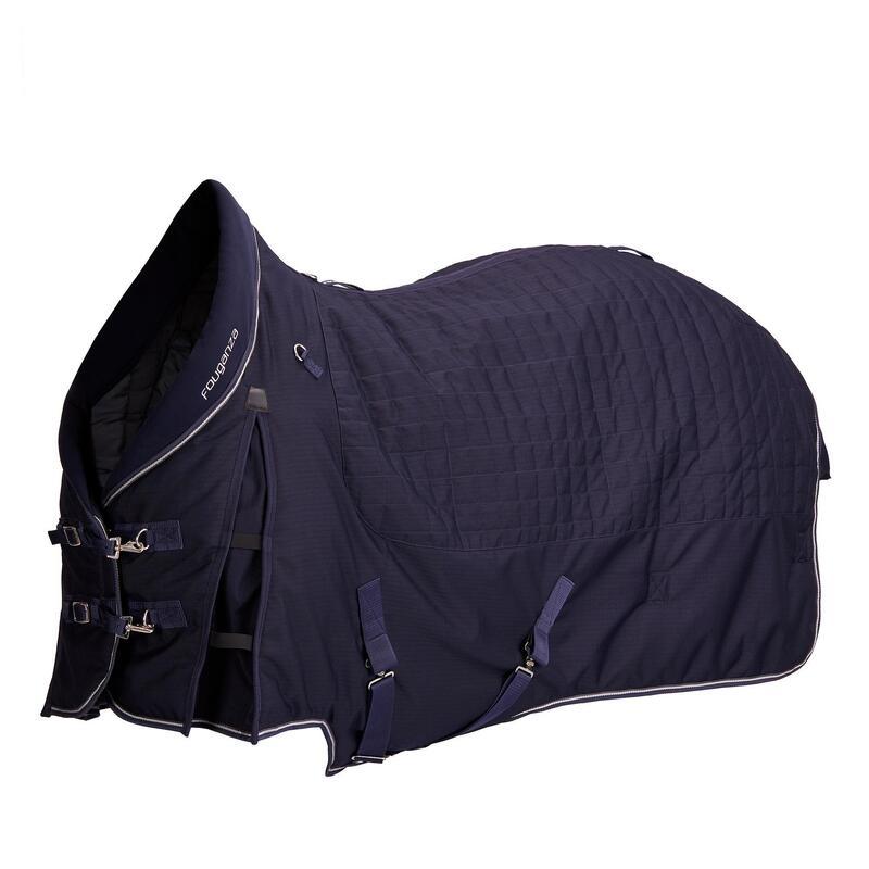 Coperta equitazione scuderia STABLE 400 pony e cavallo blu