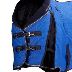 Couverture d'écurie équitation cheval et poney STABLE 400 bleu électrique