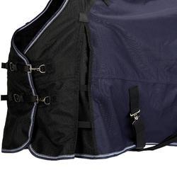 Regendecke Allweather 300 1000D Pferd/Pony marineblau