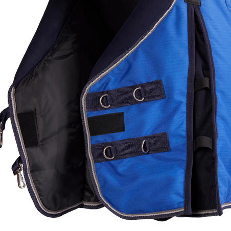 Horse Riding Stable Rug 400 For Horse And Pony - Royal Blue