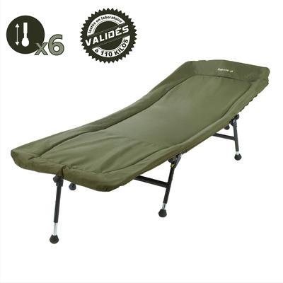 כיסא-מיטה לדיג קרפיונים