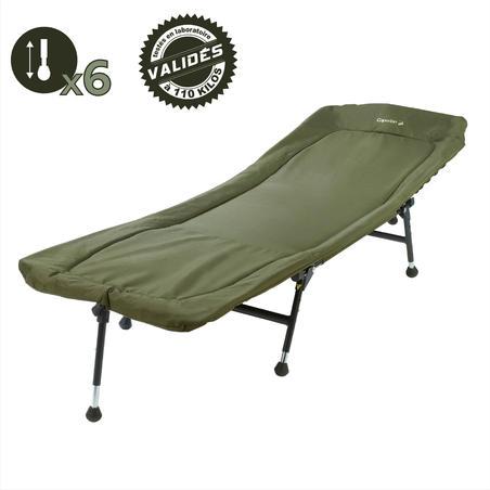 Carp fishing bedchair