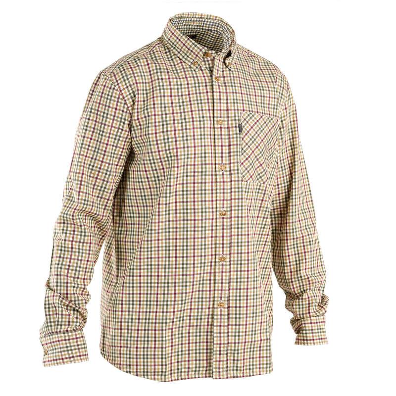 PANTALONI E CAMICIE CACCIA Abbigliamento uomo - Camicia AIGLE HANAJ BRONZE AIGLE - Abbigliamento uomo