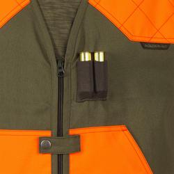 Jagdweste leicht 100 orange/grün