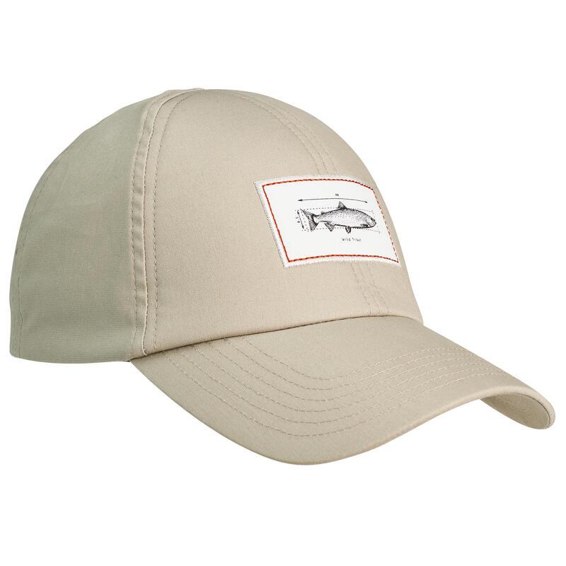Fishing cap 100 beige