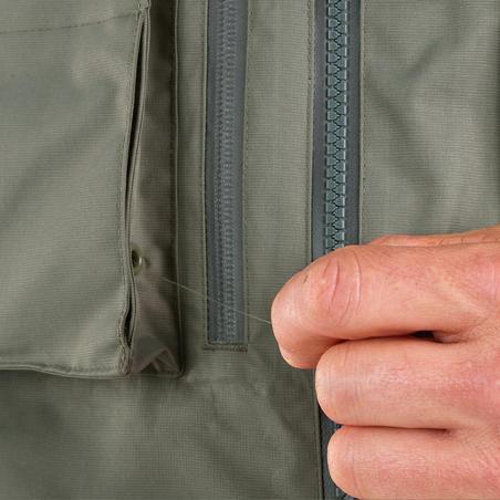 Fishing jacket 500 - Khaki