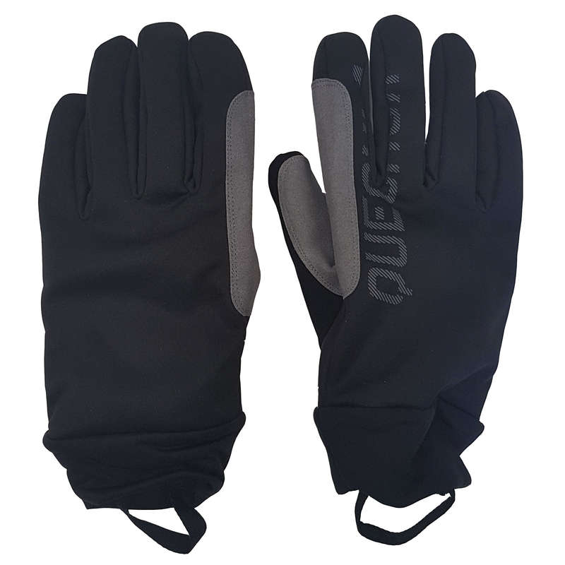ADULT CROSS COUNTRY CLOTHING Cross-Country Skiing - Warm Gloves - Black INOVIK - Cross-Country Skiing