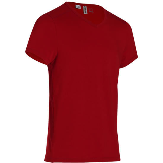 Heren T-shirt voor gym en pilates, slim fit - 164106