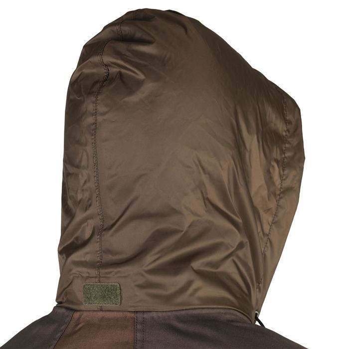 Waterdichte jas voor de jacht 500 bruin