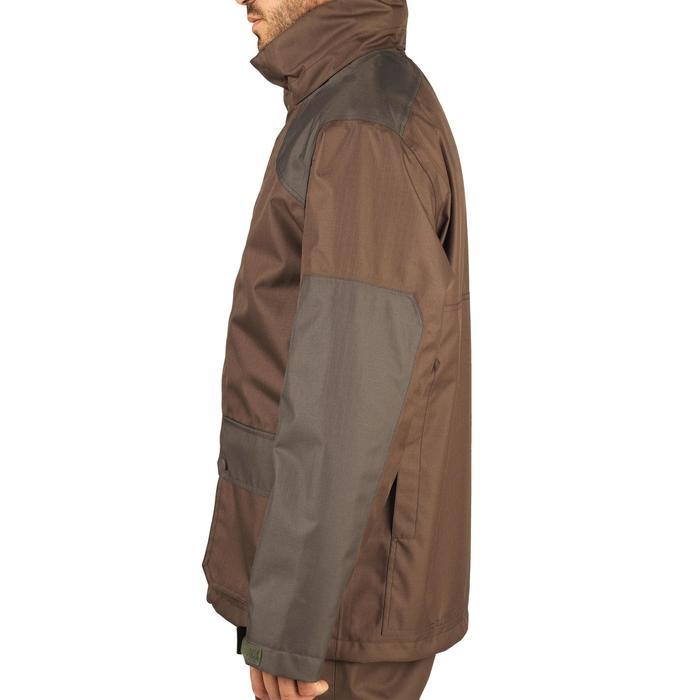 Jagd-Regenjacke 500 braun