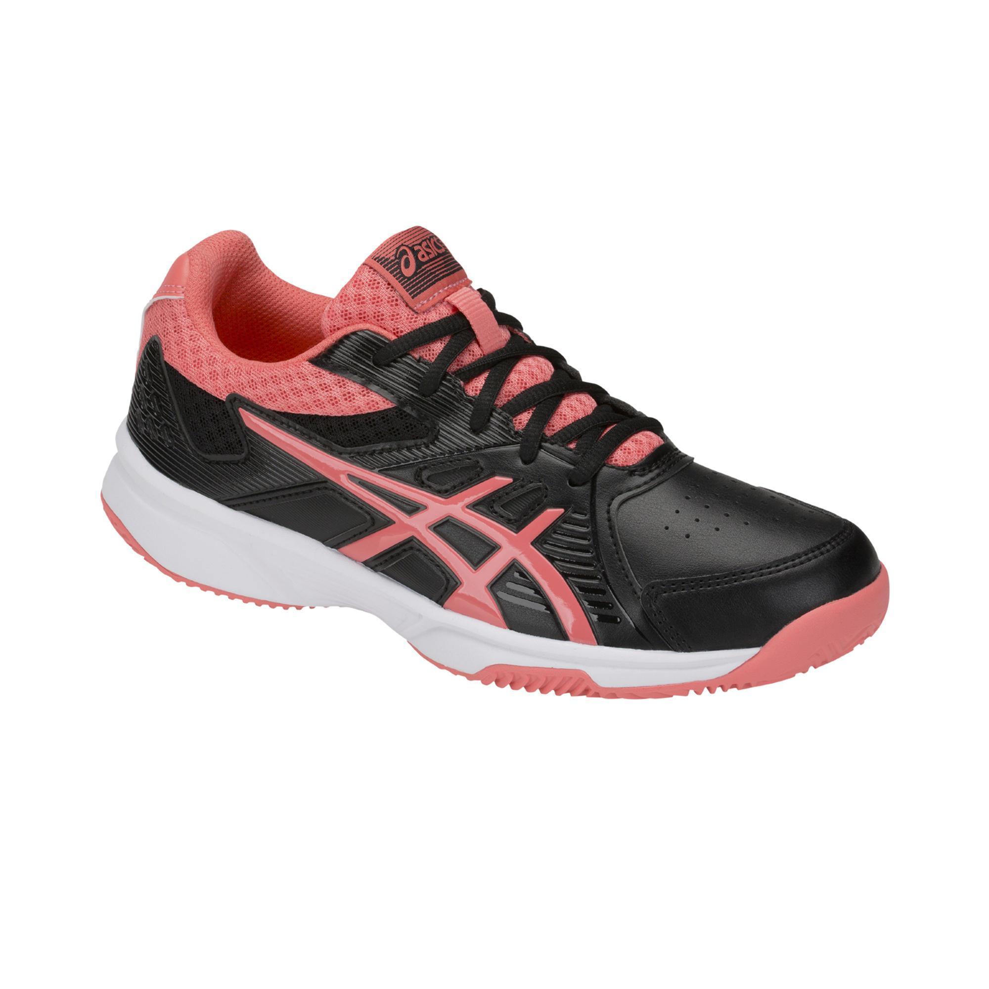 Asics Tennisschoenen voor dames gravel Court Slide zwart