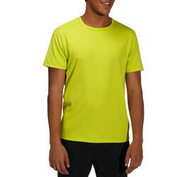 Heren T-shirt voor gym en pilates, regular fit - 164117