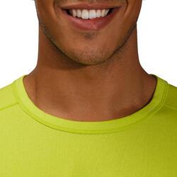 Heren T-shirt voor gym en pilates, regular fit - 164121