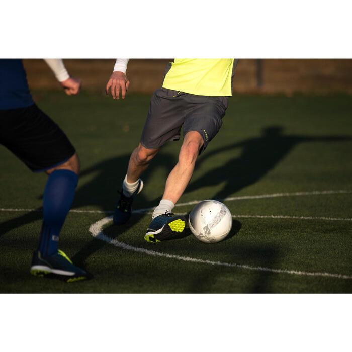 Balón de Fútbol 5 Society 100 talla 5 Blanco / Gris
