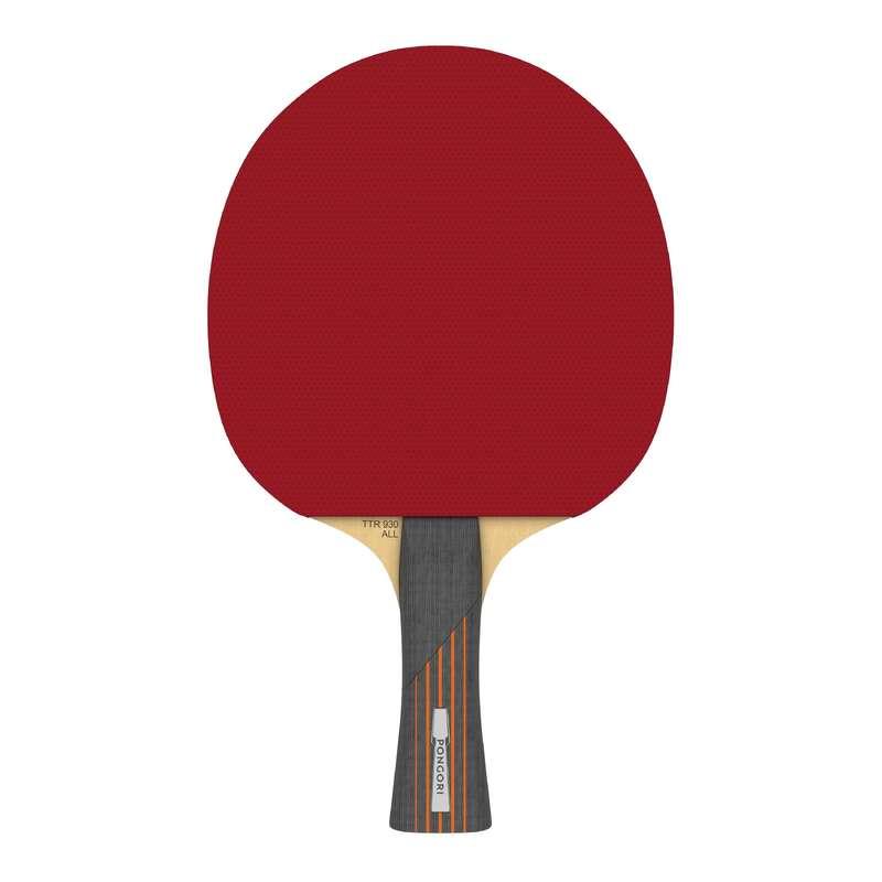 RAKIETKI DLA ŚREDNIO ZAAWANSOWANYCH Tenis stołowy - Rakietka TTR 930 ALL 6* PONGORI - Sporty rakietowe