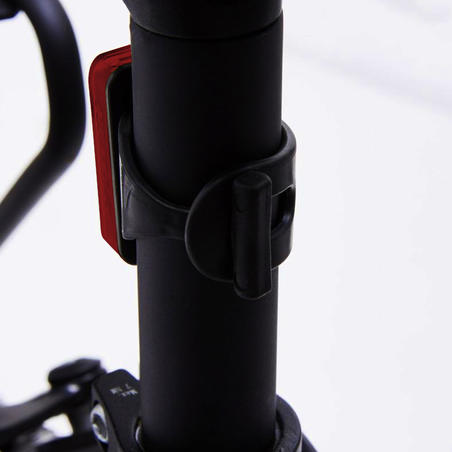LED USB Rear Bike Light CL 100 - Red