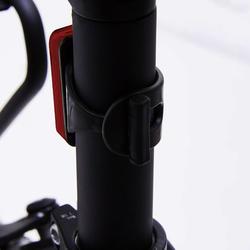 Abraçadeira de Fixação de Luz Bicicleta CL100 CL500 ST500 CL900 Preto