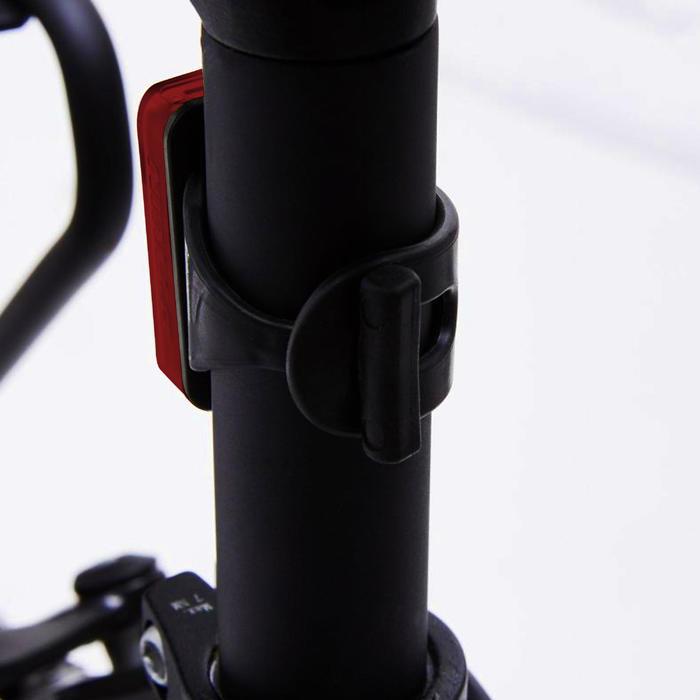 USB充電LED自行車後車燈CL 100 - 紅色