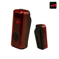 LEDACHTERLICHT VOOR FIETS VIOO CLIP 100 USB ROOD