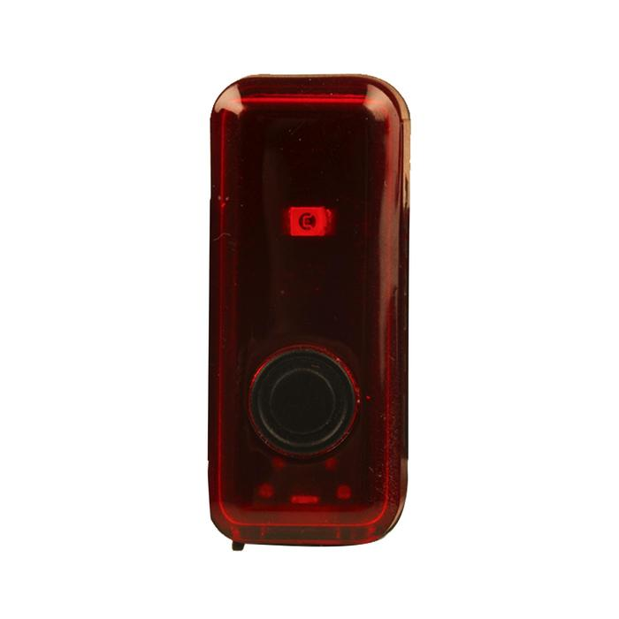 LUZ TRASERA BICICLETA DE LED VIOO CLIP 100 USB ROJO