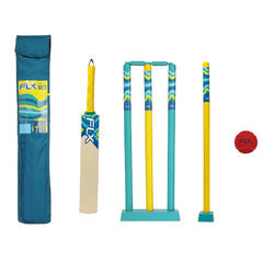 ADULT CRICKET SET SIZE 5 LYON BLUE