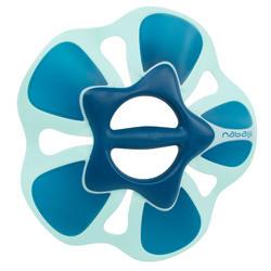 Par de halteres aquáticos Pullpush flower L Hidroginástica-Aquafitness azul