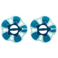 Paire haltères aquatiques Fleur pullpush L gymnastique aquatique-Aquaforme bleu