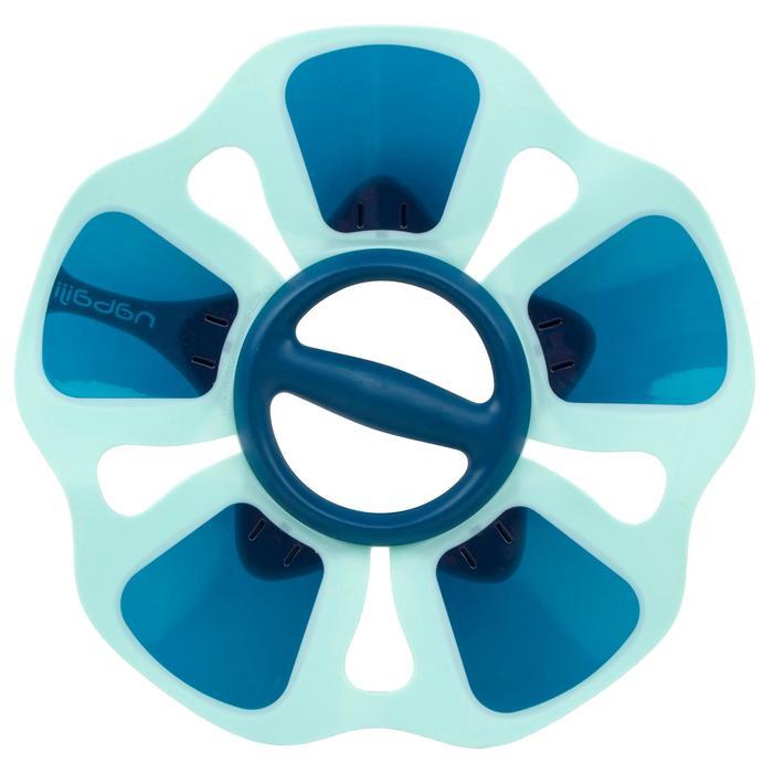 Haltère de renforcement musculaire Pullpush flower Aquagym-Aquafitness bleu