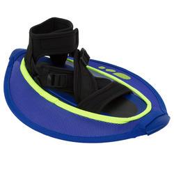 Hantel Muskelkräftigung Pullstep Mesh Aquagym Aquafitness blau/gelb