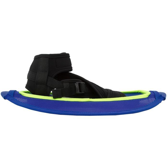 Haltère de renforcement musculaire Pullstep mesh Aquagym-Aquafitness bleu jaune