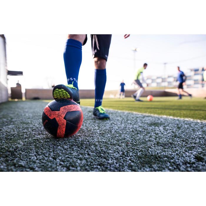 Balón de Fútbol 5 Kipsta Society 100 talla 4 Naranja / Negro
