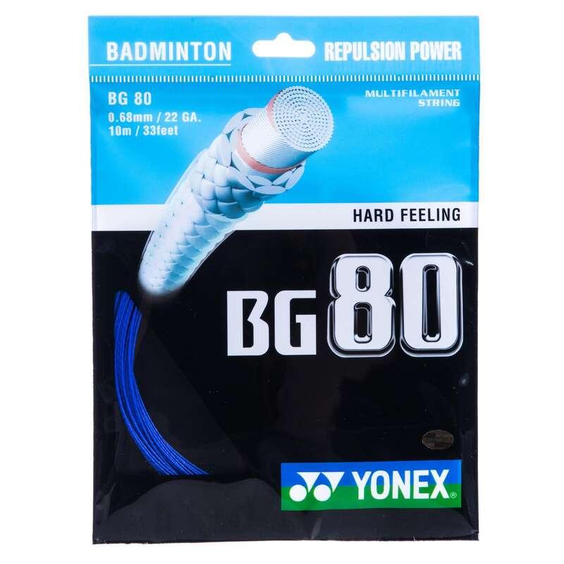 BADMINTON STRINGS Badminton - BG 80 - Blue YONEX - Badminton