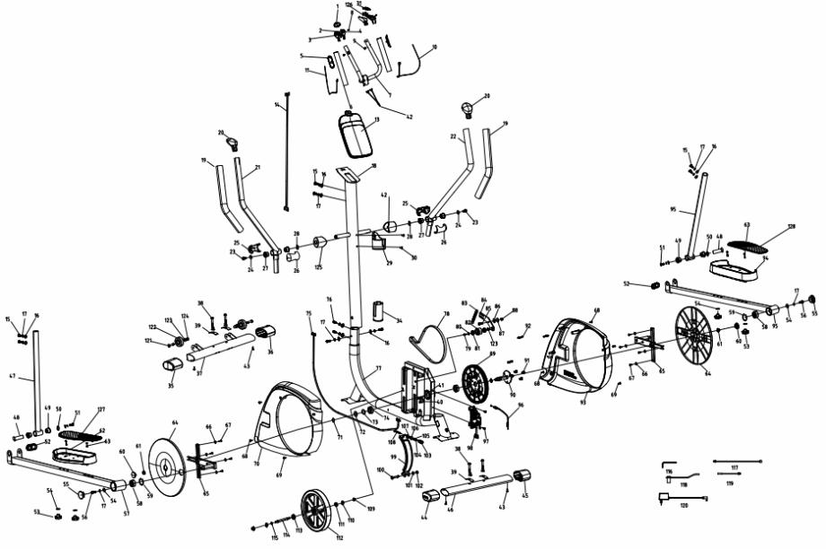 diagrama de peças