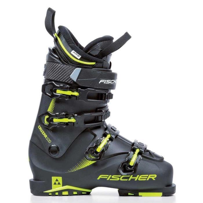 Skischoenen voor heren pisteskiën Fisher Cruzar 100 zwart
