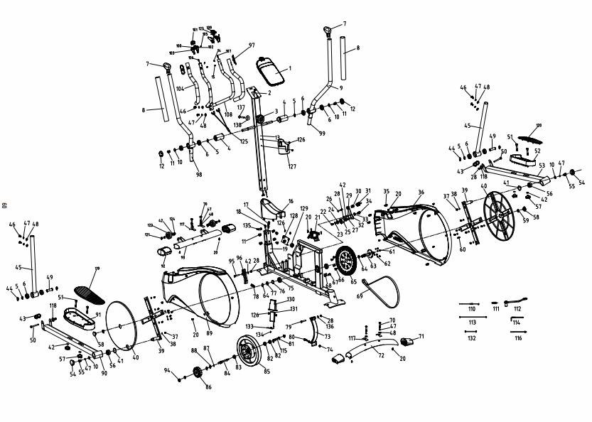 schema dei pezzi FEL520