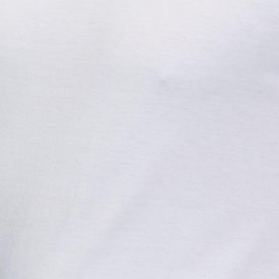 Футболка 100 для пілатесу та гімнастики, прямий крій - Біла