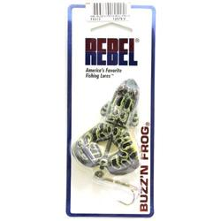 PECES NADADORES PESCA BUZZ N'FROG COLOR GREEN BULL F