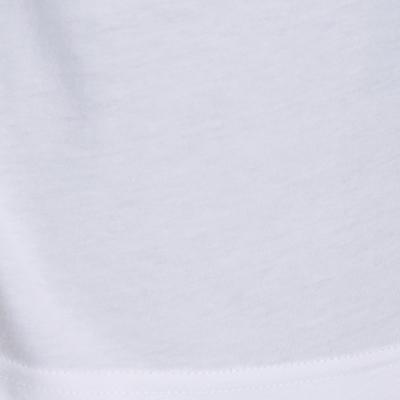 Men's Regular-Fit Long-Sleeved Pilates & Gentle Gym Sport T-Shirt 100 - White