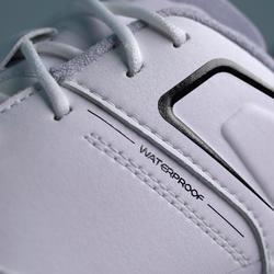Golfschoenen heren Grip Waterproof wit