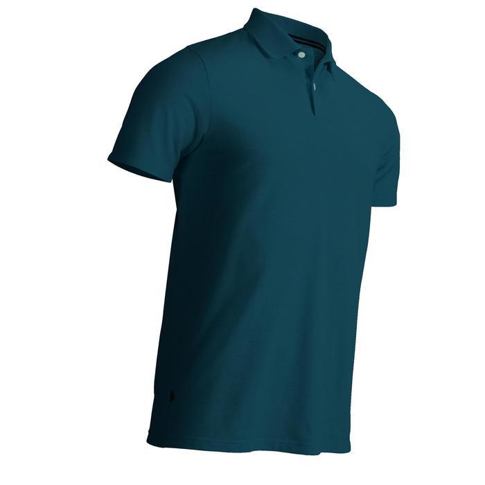 Golf Poloshirt Herren dunkelpetrol