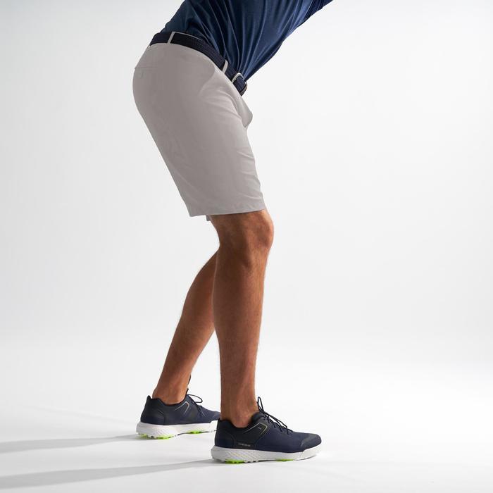 Golf Bermuda Shorts Herren stahlgrau