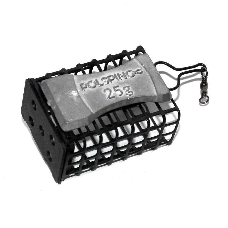 FEEDERY, AKCESORIA Wędkarstwo - Koszyczek zanętowy 25g POLSPING - Ciężarki wędkarskie, koszyki zanętowe