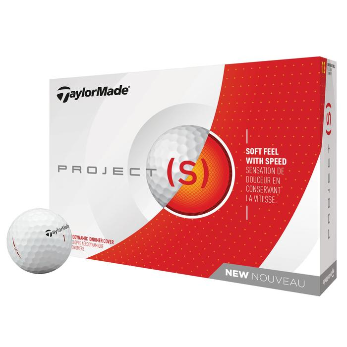 BOLA GOLF PROJECT S x12 BLANCO