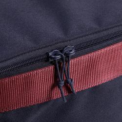 Bolsa Limpieza Equitación Fouganza Vanity Azul/Rojo Cuadrada