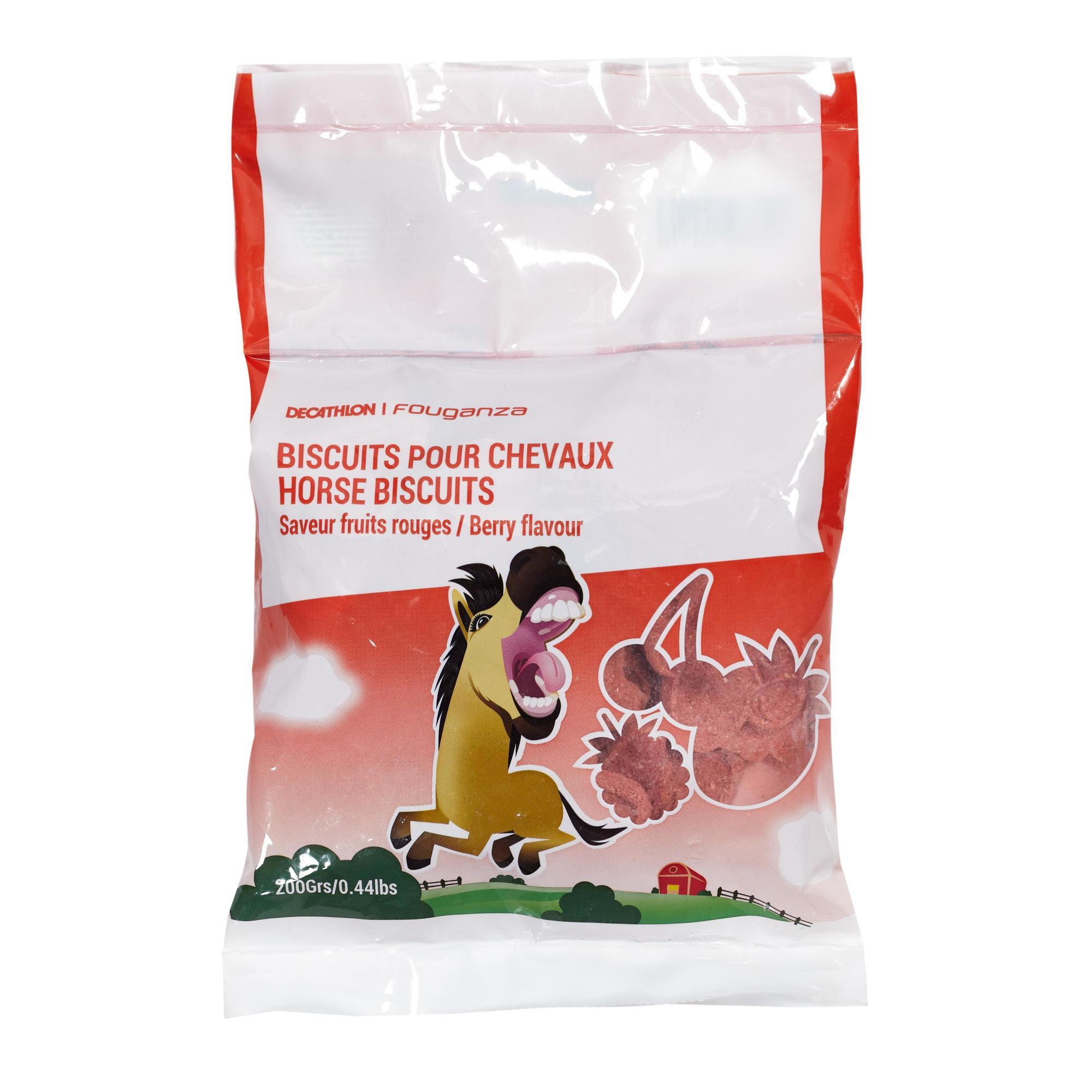 Leckerlis für Pony/Pferd rote Beeren 200 g