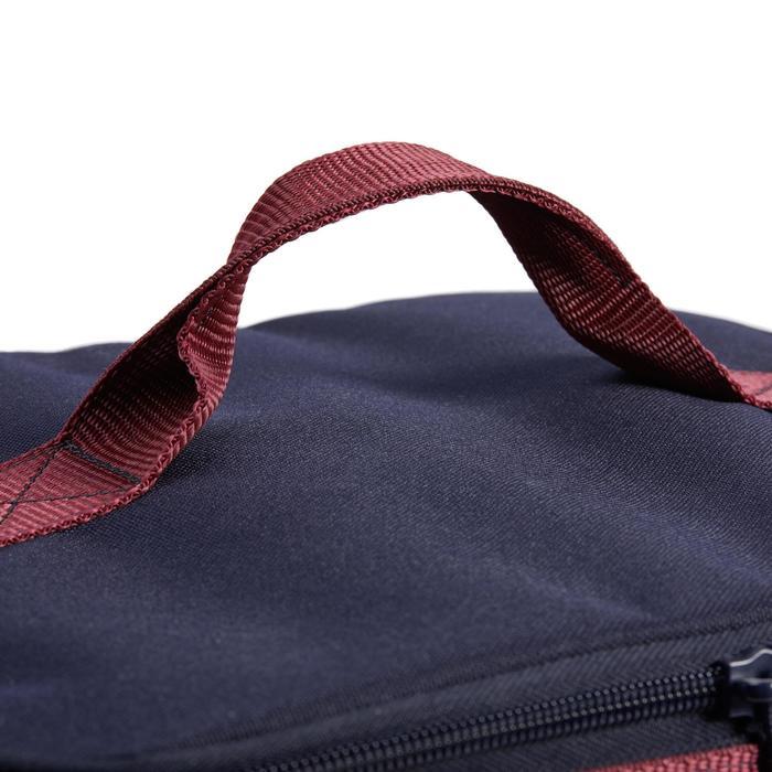 Putztasche ohne Inhalt Vanity marineblau/bordeaux