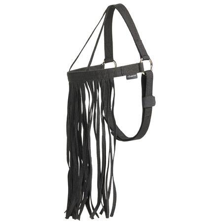 Horse Riding Fly Fringe - Black