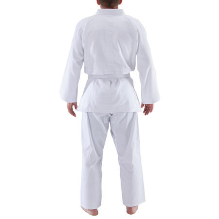 100 Adult Judo Aikido Uniform - White