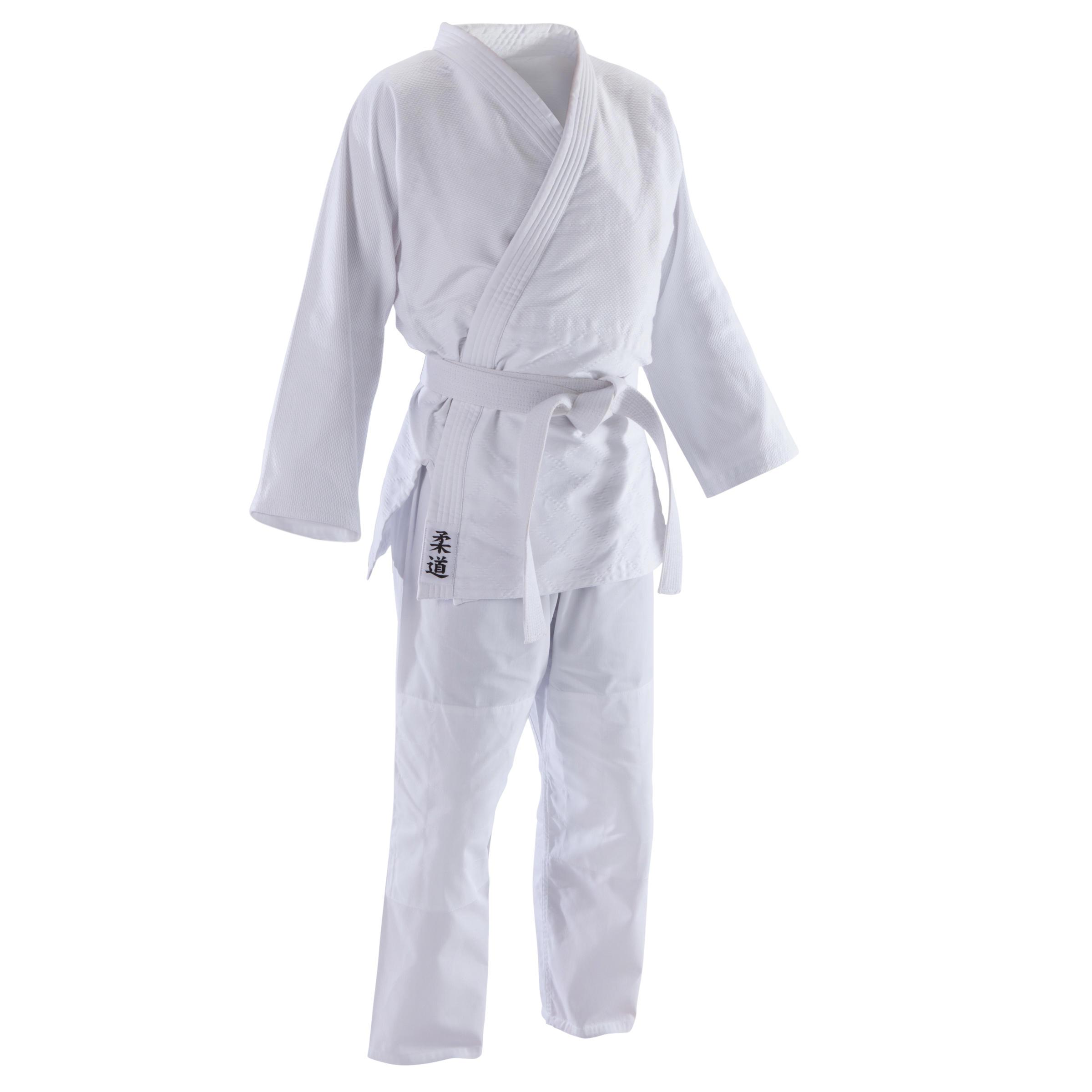 Judoanzug 100 Aikido Erwachsene weiß | Sportbekleidung > Sportanzüge > Judoanzüge | Weiß | Outshock
